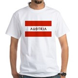Austrian Flag (labeled) Shirt