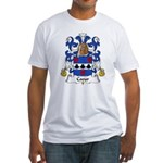 Coeur Family Crest Fitted T-Shirt