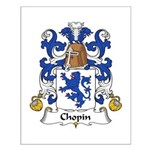 Chopin Family Crest  Small Poster