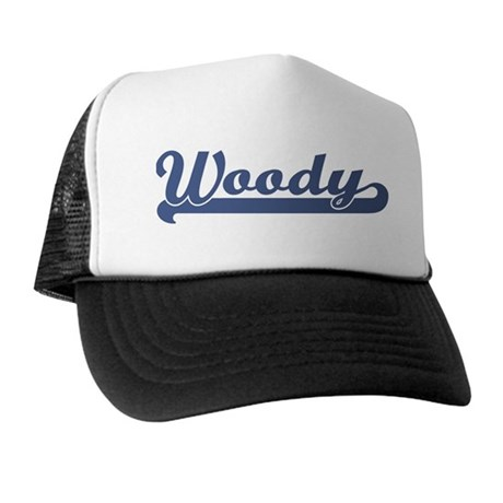 Woody (sport-blue) Trucker Hat