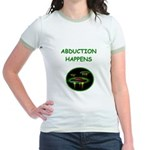 abduction t-shirts Jr. Ringer T-Shirt