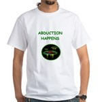 abduction t-shirts White T-Shirt