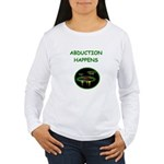 abduction t-shirts Women's Long Sleeve T-Shirt