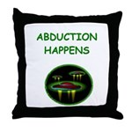 abduction t-shirts Throw Pillow