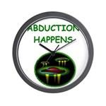 abduction t-shirts Wall Clock