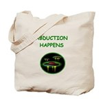 abduction t-shirts Tote Bag