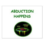 abduction t-shirts Small Poster