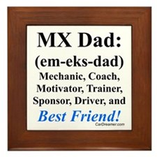"""MX Dad"" Framed Tile"