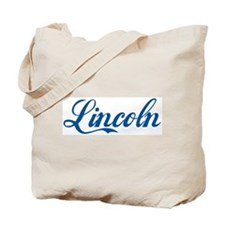 Lincoln (cursive) Tote Bag