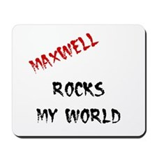 Maxwell Rocks Mousepad
