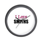 I Love SMITHS Wall Clock