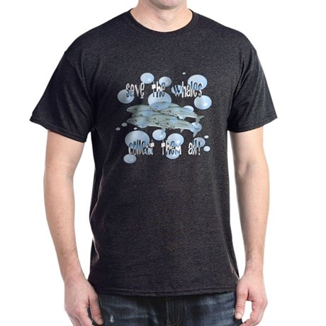 Save the Whales - Collect Them All! Dark T-Shirt