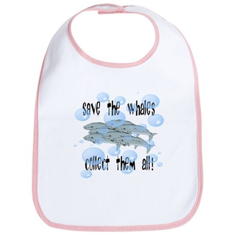 Save the Whales - Collect Them All! Bib