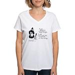2409 Women's V-Neck T-Shirt