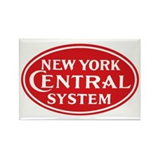 New York Central 1 Rectangle Magnet
