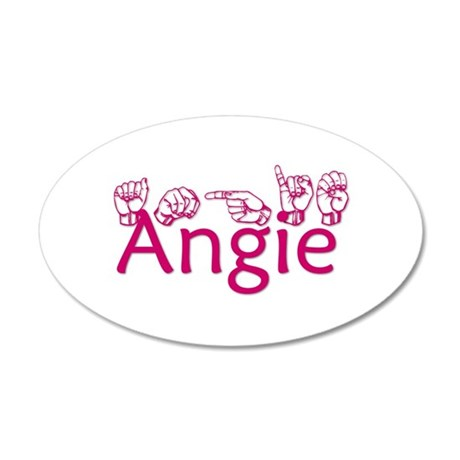Angie Wall Decal