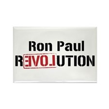 Cool Ron paul revolution Rectangle Magnet