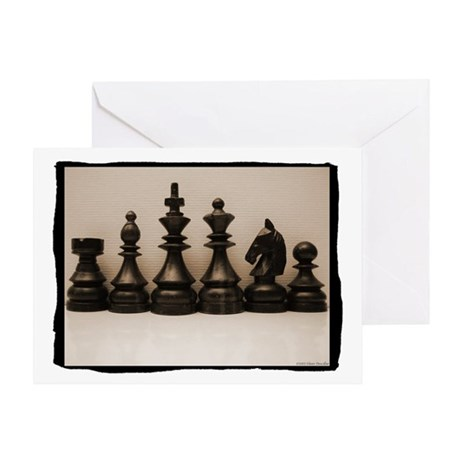 Chess Family Portrait Greeting Card