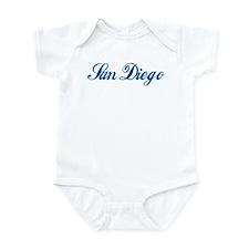 San Diego (cursive) Infant Bodysuit