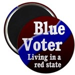 Tennessee Blue Voter Magnet