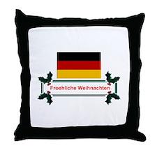 German Froehliche... Throw Pillow