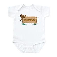 Alexandra western Infant Bodysuit