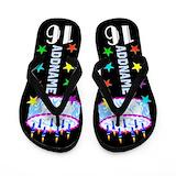 16th birthday girls Flip Flops