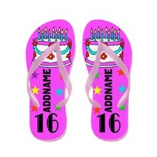Gorgeous 16th Flip Flops