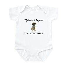 Personalized Puggle Infant Bodysuit