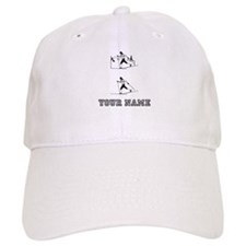 Cross Country Skiers (Custom) Baseball Baseball Cap