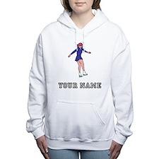Figure Skater (Custom) Women's Hooded Sweatshirt
