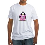 Nurse Penguin Fitted T-Shirt