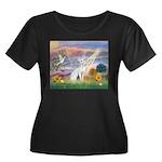 Cloud Angel & Devonshire Rex Women's Plus Size Sc