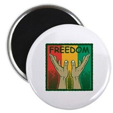 Freedom and Peace Magnet