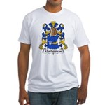 Charbonneau Family Crest Fitted T-Shirt