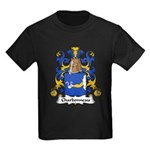 Charbonneau Family Crest Kids Dark T-Shirt