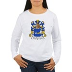 Charbonneau Family Crest Women's Long Sleeve T-Shi