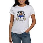 Chapelain Family Crest Women's T-Shirt