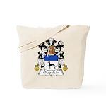 Chapelain Family Crest Tote Bag