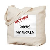 Nathan Rocks Tote Bag
