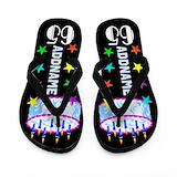 65th birthday flip flops Flip Flops