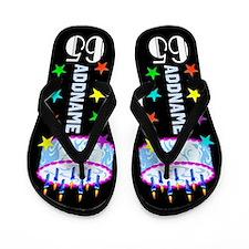 65th Celebration Flip Flops