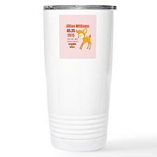 Personalized Woodland B Travel Coffee Mug
