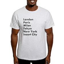 Insert City T-Shirt