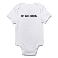 Not Made in China Infant Bodysuit