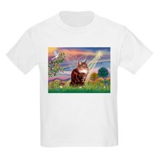 Cloud Angel & Maine Coon T-Shirt