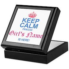 Princess is Here Keepsake Box