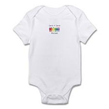 Funny Gay marriage Infant Bodysuit