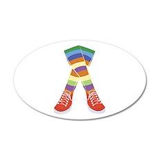 Colorful Socks Wall Decal