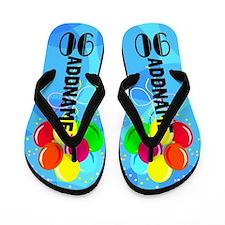 Fun Festive 90th Flip Flops